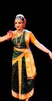 Sharmila Rao in Vasantha Tillana, photo by G. Chithambaram