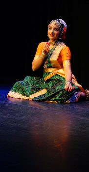 "Sharmila Rao in ""Pogadirelo Ranga », Purandara Dasa Pada, photo by A. Tönz"