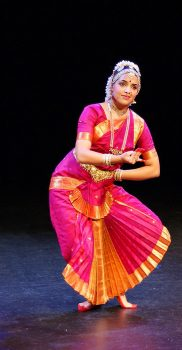 "Sharmila Rao in ""Gajavadana Beduve"", Purandara Dasa Pada, photo by A. Tönz"