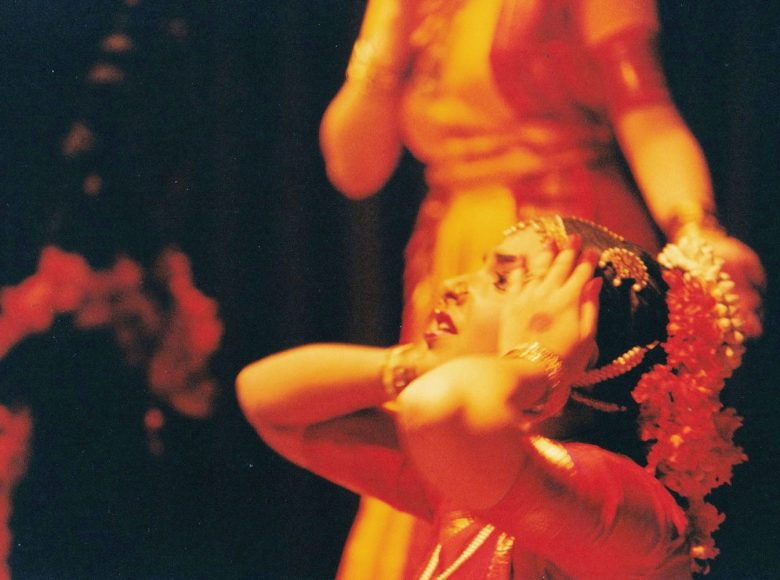 Me as Mohanavalli in the big dance tour in 1999.